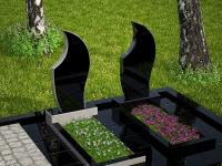 Гранитный памятник №100 (надгробие)