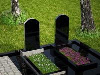 Гранитный памятник №101 (надгробие)