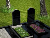 Гранитный памятник №102 (надгробие)