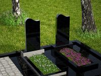 Гранитный памятник №103 (надгробие)