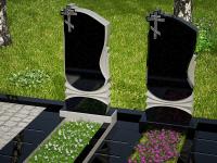 Гранитный памятник №11 (надгробие)
