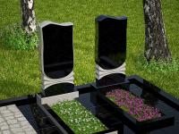 Гранитный памятник №12 (надгробие)