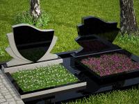 Гранитный памятник №13 (надгробие)