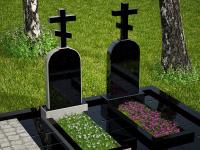 Гранитный памятник №16 (надгробие)