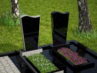 Гранитный памятник №17 (надгробие)