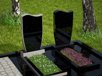 Гранитный памятник №18 (надгробие)
