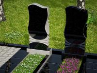 Гранитный памятник №2 (надгробие)