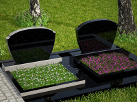 Гранитный памятник №21 (надгробие)