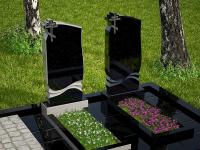 Гранитный памятник №3 (надгробие)