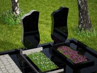 Гранитный памятник №33 (надгробие)
