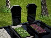 Гранитный памятник №34 (надгробие)