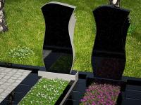 Гранитный памятник №35 (надгробие)