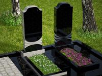 Гранитный памятник №36 (надгробие)
