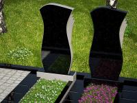 Гранитный памятник №38 (надгробие)