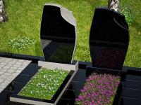 Гранитный памятник №39 (надгробие)