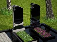 Гранитный памятник №4 (надгробие)