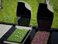 Гранитный памятник №40 (надгробие)