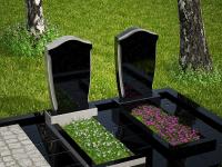 Гранитный памятник №41 (надгробие)