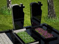 Гранитный памятник №42 (надгробие)