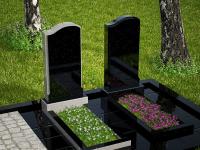 Гранитный памятник №43 (надгробие)