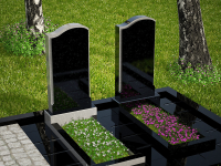 Гранитный памятник №44 (надгробие)