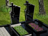 Гранитный памятник №46 (надгробие)