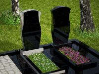 Гранитный памятник №47 (надгробие)