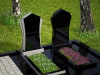 Гранитный памятник №49 (надгробие)