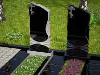 Гранитный памятник №5 (надгробие)