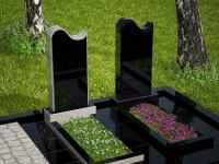 Гранитный памятник №51 (надгробие)