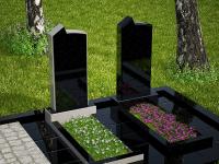 Гранитный памятник №52 (надгробие)