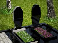 Гранитный памятник №54 (надгробие)