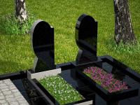 Гранитный памятник №61 (надгробие)