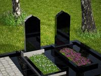 Гранитный памятник №62 (надгробие)