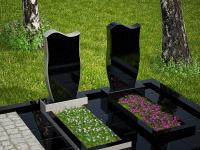 Гранитный памятник №64 (надгробие)