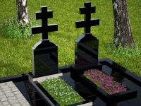 Гранитный памятник №65 (надгробие)