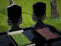 Гранитный памятник №68 (надгробие)
