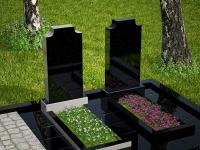 Гранитный памятник №72 (надгробие)