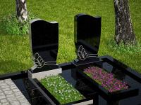 Гранитный памятник №74 (надгробие)