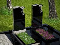 Гранитный памятник №76 (надгробие)