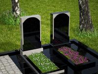 Гранитный памятник №77 (надгробие)