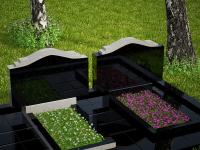 Гранитный памятник №81 (надгробие)
