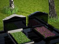 Гранитный памятник №82 (надгробие)