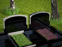 Гранитный памятник №84 (надгробие)