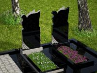 Гранитный памятник №87 (надгробие)