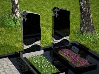 Гранитный памятник №9 (надгробие)