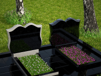 Гранитный памятник №90 (надгробие)