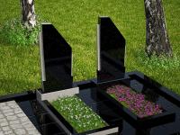 Гранитный памятник №91 (надгробие)