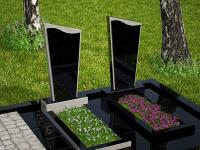 Гранитный памятник №93 (надгробие)