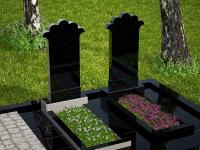 Гранитный памятник №95 (надгробие)